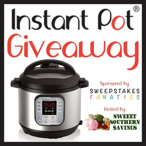 Instant Pot Giveaway (Winner's Choice of $100 eGift Card)