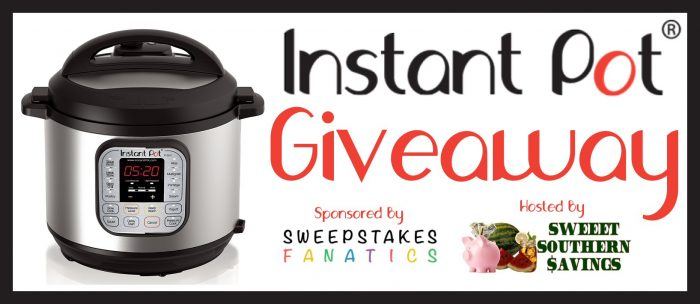 Instant Pot Giveaway (Winner's Choice of $100 eGift Card) Banner