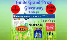 Spring & Easter Gift Guide Grand Prize Giveaway Ends 4/1 – $388 RV