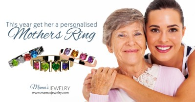 Give Mom the gift she deserves and save $$$ with this Mother's Day special offer from Mama's Jewelry! Mother's Ring