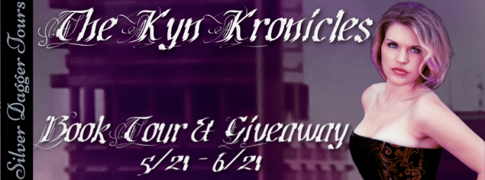 The Kyn Kronicles Book Tour & $20 Amazon Giveaway 5/21 - 6/21