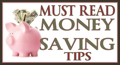 Love Saving Money? Don't Miss this MUST READ! MONEY SAVING TIPS Post - It can be difficult to figure out ways to save money and how to best use your savings. Some of these suggestions take just a few minutes, while others require a bit of regular effort. #Save #Saving #SavingMoney #Money #Tips #SaveMoney #MoneySavingTips