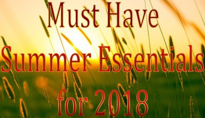 Must Have Summer Essentials for 2018 - Summer Sun Wheat Field