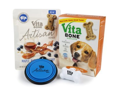 Vita Bone Artisan Inspired Dog Treats Giveaway