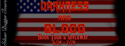 $10 Amazon Giveaway & Darkness and Blood Book Tour 6/29 – 7/29