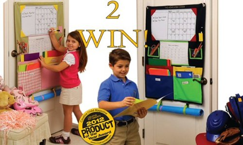 Two Winners Will Start The School Year Organized When This Homework Caddy BTS Giveaway Ends on 8/31.