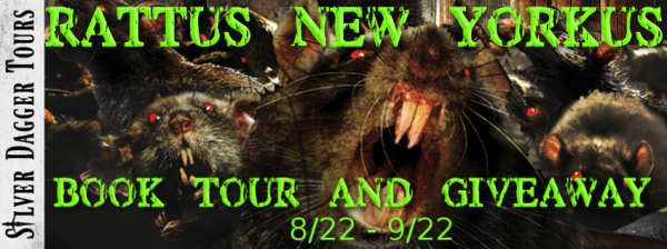 Sweet Southern Savings is hosting today's blog tour stop for Hunter Shea's Rattus, New Yorkus Book Tour.Stop by for more about this book, the author, and a tour-wide giveaway! #Win #Winit #Winning #Sweeps #Sweepstake #Sweepstakes #Contest #ContestAlert #Competition #Giveaway #GiveawayAlert #Prize #Amazon #BookTour #Book #Read