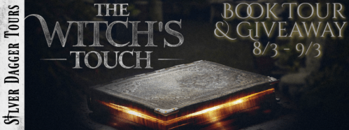 The Witch's Touch Book Tour $20 Amazon Gift Card Giveaway Ends 9/3