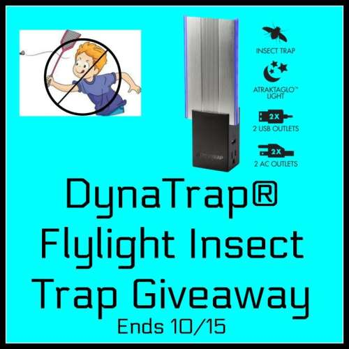 This DynaTrap FlyLight Insect trap will make short work of flying insects in your home or apartment and you have a chance to own it for FREE! #SMGN #GiftGuide #Win #Winit #Winning #Sweeps #Sweepstake #Sweepstakes #Contest #ContestAlert #Competition #Giveaway #GiveawayAlert #Prize #Free #Gift