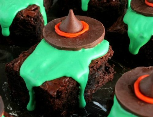 Wizard Of Oz Wicked Witch Melting Witch Brownie