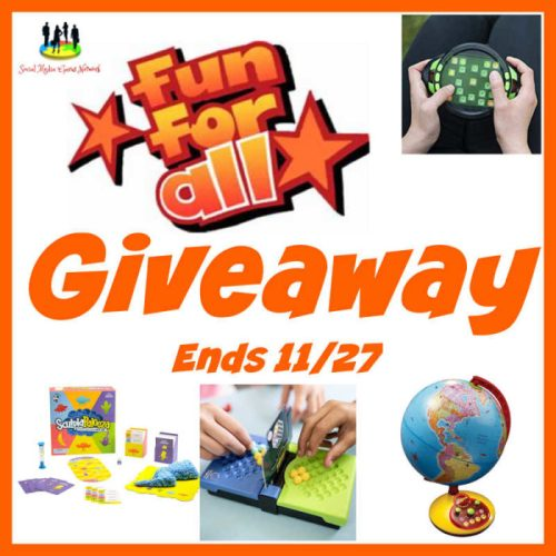 4 WIN Educational Toys When This Fun For All Giveaway Ends 11/27