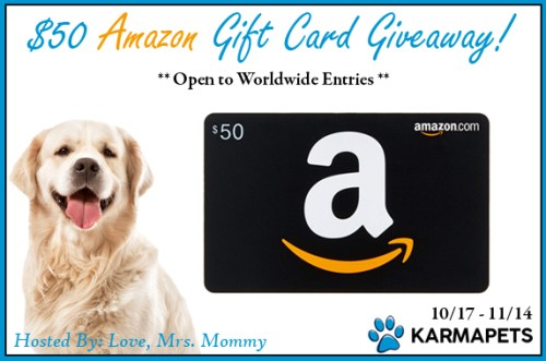 Calming Treats for Dogs $50 Amazon Gift Card Giveaway Ends 11/14!