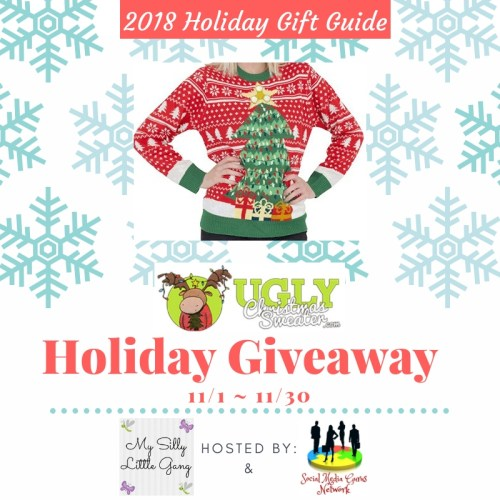 Ugly Christmas Sweater Holiday Giveaway Ends 11/30