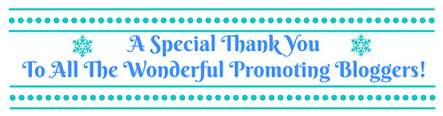 A Special Thank You To All The Wonderful Promoting Bloggers
