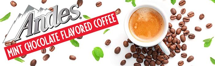 Thanks to Andes Coffee, Mint Chocolate and Coffee Lovers can REJOICE!