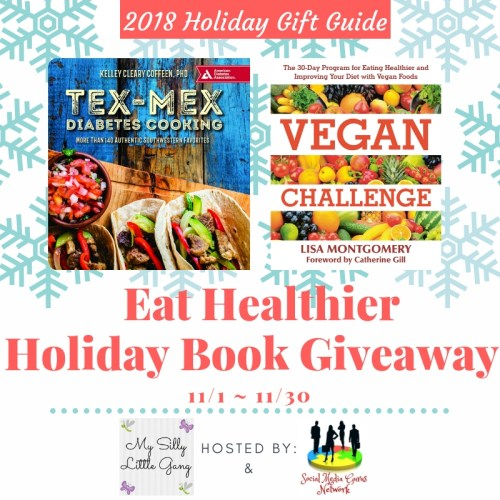Eat Healthier Cookbook Holiday Giveaway Ends 11/30