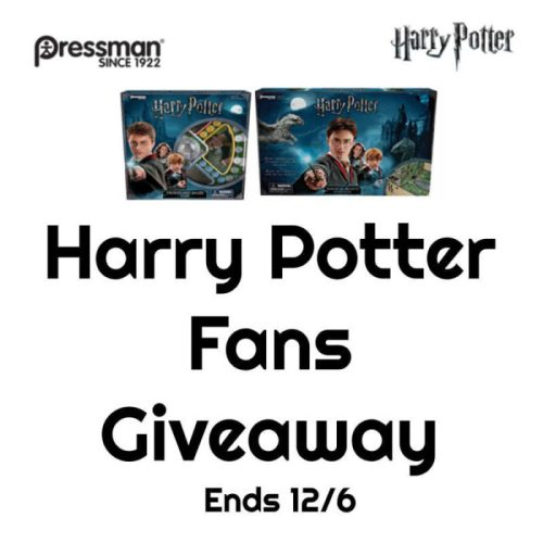 One lucky reader will #win two great Harry Potter prizes to put under their Christmas tree when this #Holiday #Gift Guide #Giveaway ends 12/6. #SMGN #GiftGuide #Win #Winit #Sweeps #ContestAlert #GiveawayAlert #Prize #Christmas