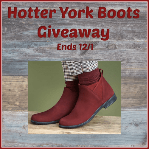 Win a Pair of Hotter York Boots – Giveaway Ends 12/1
