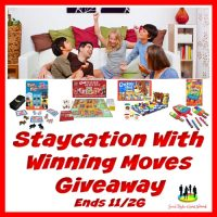 Enter To Win $100 Worth Of Games When The Staycation With Winning Moves Giveaway Ends 11/26. #SMGN #GiftGuide #Win #Winit #Sweeps #ContestAlert #Giveaway #GiveawayAlert #Prize #Free #Gift #Holiday #Christmas