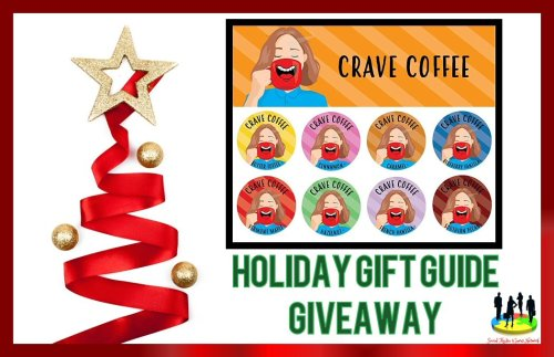 You can be 1 of 3 lucky readers who will #Win a 40 count box of Crave Coffee Single Serve #Coffee when this Holiday Gift Guide #Giveaway ends 12/15.