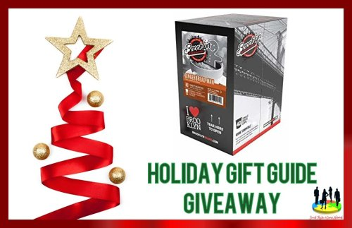 You can be 1 of 2 lucky readers who will #Win a 40 count box of Gingerbread Man Coffee Single Serve #Coffee when this Holiday Gift Guide #Giveaway ends 12/15.