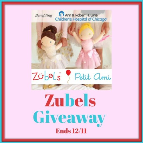 One lucky reader will #Win a Zubels Ballerina Doll to put under their Christmas tree when this #Holiday #Gift Guide #Giveaway ends 12/11. #SMGN #GiftGuide #Win #Winit #Sweeps #ContestAlert #GiveawayAlert #Prize #Christmas