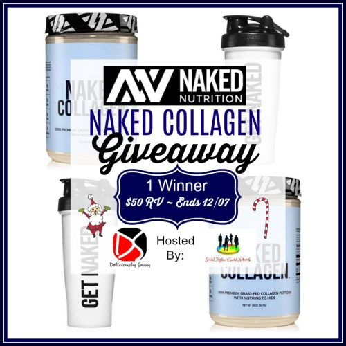 One lucky reader will #win a Naked Collagen Bundle from Naked Nutrition worth $250 when this #Holiday #Gift Guide #Giveaway Ends 12/27 #Sweeps #GiftGuide #Prize #Free #Sweepstake #Winit #Christmas