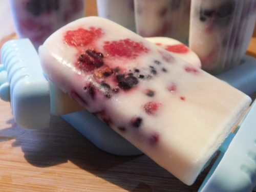 2 Weight Watchers Smartpoints Healthy Berry Probiotic Kefir Popsicles Recipe