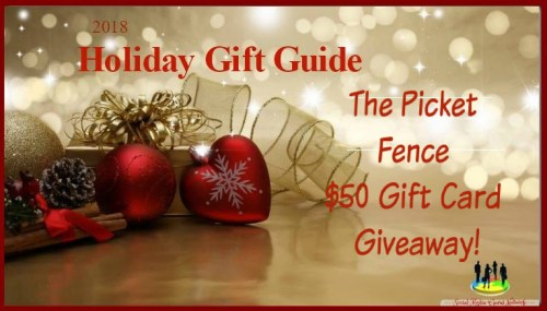 One lucky winner will do some shopping with a Picket Fence $50 Gift Card when they win this Holiday Giveaway that ends 12/10 #SMGN #GiftGuide #Win #Winit #Sweeps #ContestAlert #Giveaway #GiveawayAlert #Prize #Free #Gift #Holiday #Christmas