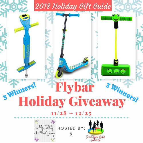 Three will #win a Flybar product to put under their tree when this #Holiday #Gift Guide #Giveaway Ends 12/25 #Sweeps #GiftGuide #Prize #Free #Sweepstake #Winit #Christmas #HGG18
