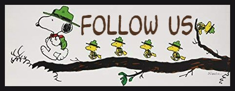 Snoopy Follow Us