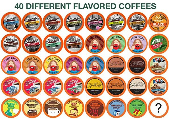 Want Something Different In Your Cup? ☕  With 40 Different Coffees, Two Rivers Flavored #Coffee Sampler Isn't Like All The Rest!