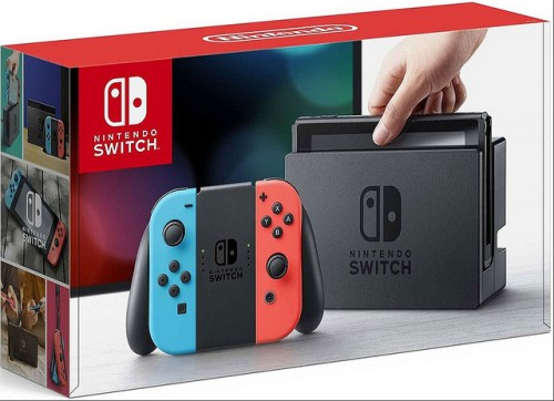 One lucky winner will receive a #Nintendo Switch with Neon Red and Neon Blue Joy-Con + $35 Nintendo eShop Credit Download Code when this Spring #NintendoSwitch #Giveaway Ends 3/31