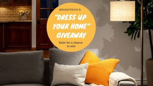 5 Win Prizes When This Brightech Dress Up Your Home Giveaway Ends
