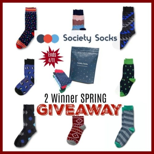 Enter to be 1 of 2 who will win a Society Socks ? Subscription Package when this ? Spring/? Easter Gift Guide #Giveaway ends 4/11 ~ Enter daily for extra chances to #win! https://www.sweetsouthernsavings.com/society-socks-spring-gift-guide-giveaway/