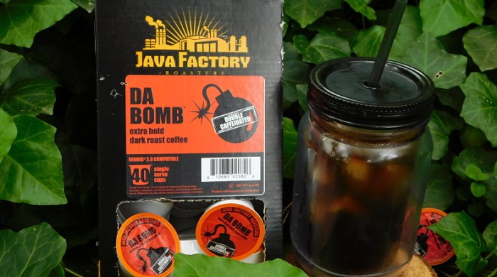 If you're wishing you had a continuous IV of #java, then you've gotta enter to #win Java Factory's Da Bomb Double Caffeinated #Coffee before this #giveaway ends 5/20. #JavaFactory #DoubleCaffeinated