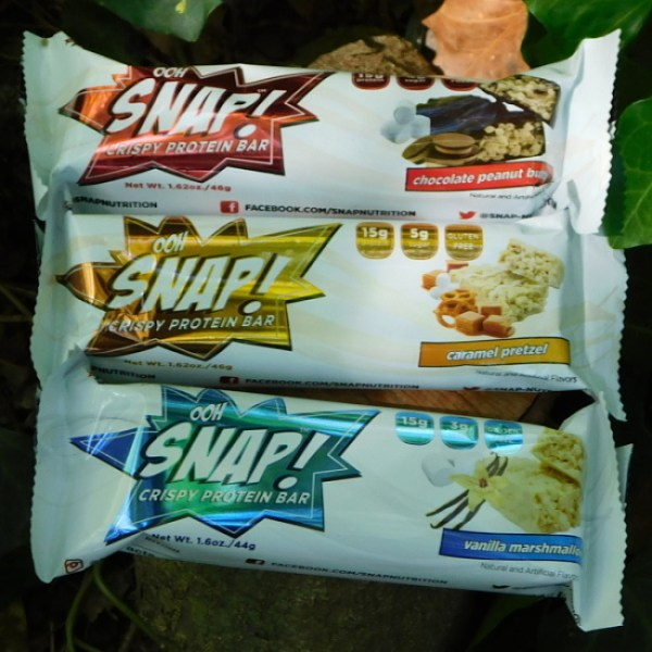 These Gluten-Free Ooh Snap! Crispy Protein Bars Are Just 5-6 SmartPoints! #oohsnapbar #snapnutrition #oohsnap #proteinbar #healthysnack #glutenfree #gym #snack #weightloss #weightlossjourney #wwfreestyle #smartpoints #getoutside #hiking #backpacking