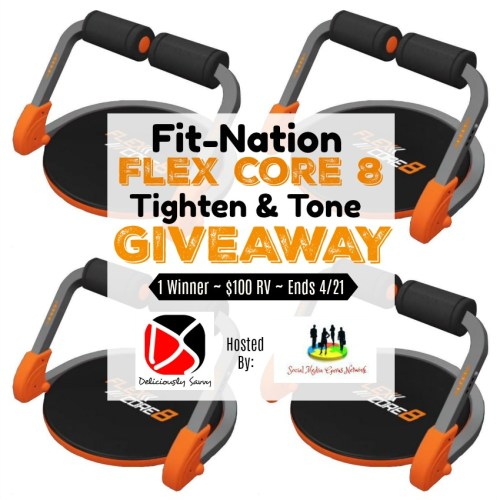 One lucky winner will #win a Flex Core 8 from Viatek worth $100 to help them stay fit when this 💐Spring/🐣Easter Gift Guide #Giveaway ends 4/21! #Fitness #Exercise #Spring #Easter #Winit #Contest
