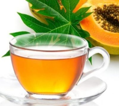 Teas For Digestion - Ease Your Stomach With These Teas - Papaya Tea