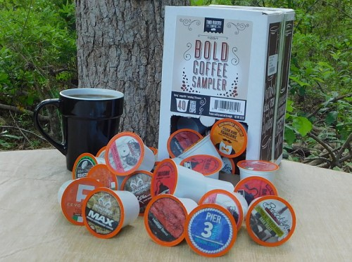 Love your #COFFEE strong? Enter for a chance to #win a box of Two Rivers Coffee's 40 Count Bold Sampler Pack before this #giveaway ends 4/30. TWO #Winit! #Contest #CoffeeLover #Caffeine #CoffeeTime #Sweeps
