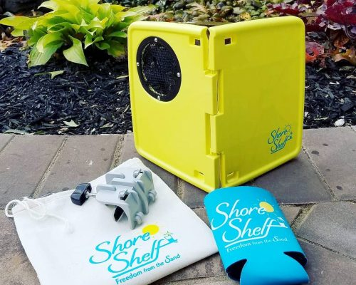 Enter for a chance to be the lucky winner who will receive four Shore Shelf Trays with an APV of $100 when this #giveaway ends 4/27. #win #contest #winit #summerfun #beach #FreedomFromtheSand #Beachin #BeachTrip #Summer