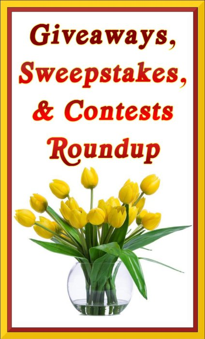 Merry Month of May Giveaways, Sweepstakes, and Contests ROUNDUP