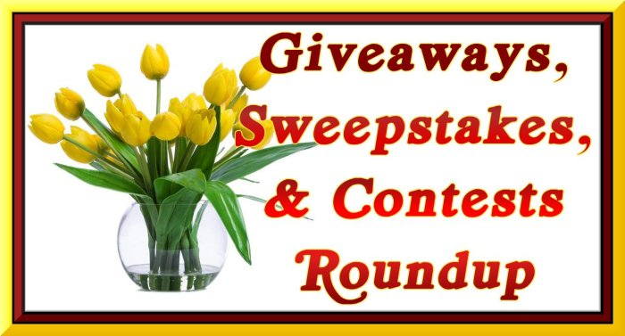 Merry Month of May Giveaways, Sweepstakes, and Contests ROUNDUP - Enter to WIN IT!