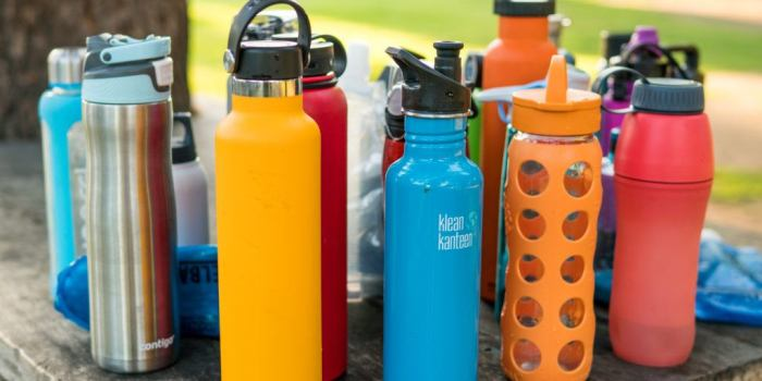 Replacing the Least Sustainable Products You Use Regularly - Water Bottles