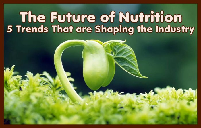 The Future of Nutrition: 5 Nutrition Trends That are Shaping the Industry #food #nutrition #foodindustry #whatsnew #whatshot #trending #future