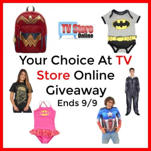 Enter and you could #WIN your choice of any TV Store Online item worth up to $60 when this #Giveaway ends 9/9. #contest #costume #Halloween