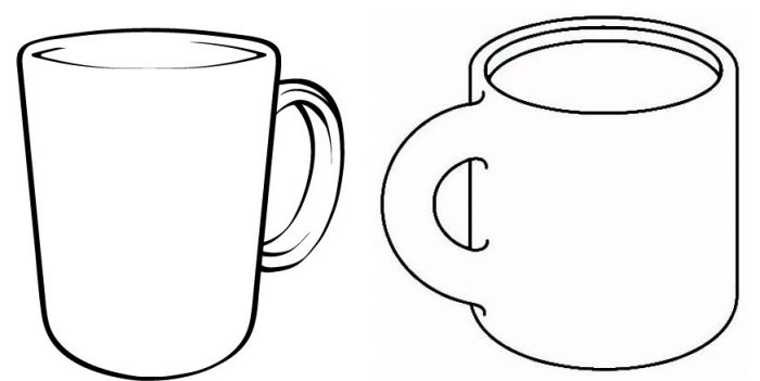 2 Hot Cocoa Cups Template 2