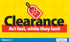 Walmart Clearance under $1