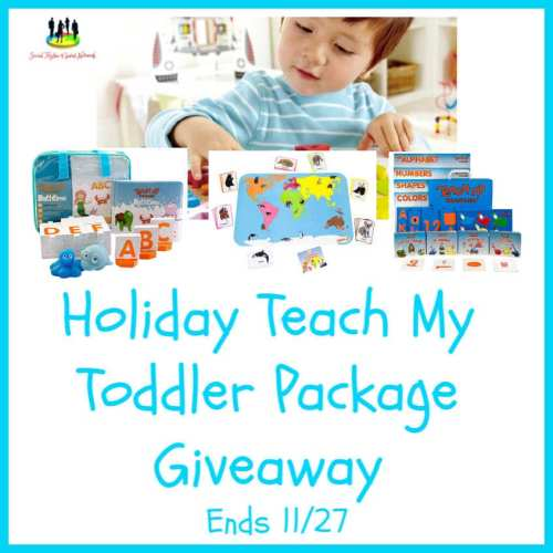 🎄 Enter and you could #WIN a Teach My Toddler Package when this #SMGN Holiday Gift 🎁 Guide #Giveaway ends 11/27. @SMGurusNetwork @teachmy