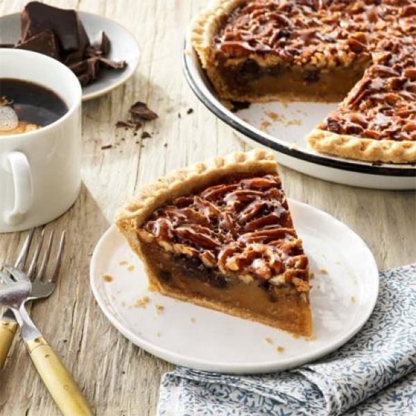 🥧 SlicePecan Pie Flavored Coffee - A guilt free way to enjoy the taste of America's signature dessert!